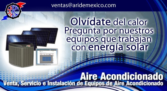 Aire acondicionado ari de m xico for Alquiler de equipos de aire acondicionado