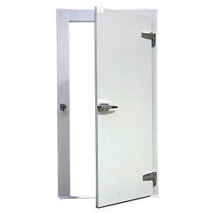 Puerta de refrigeracion for Puerta de cristal abatible